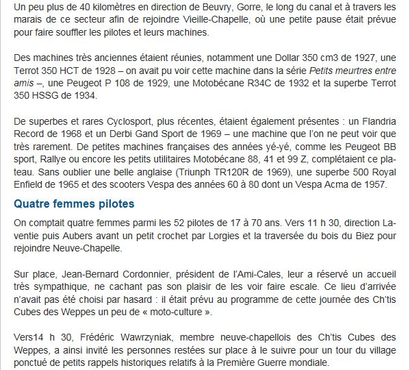 Balade ch'tis cubes 2013