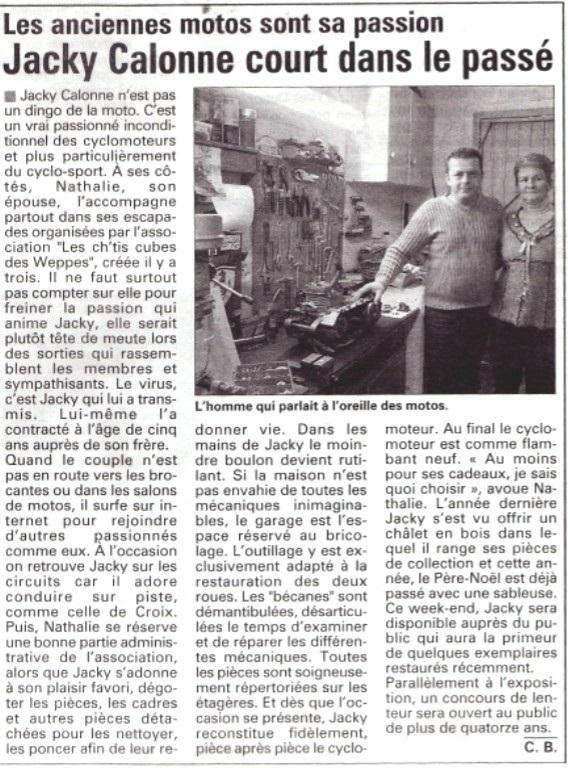 5 L'AVENIR DE L'ARTOIS DU 15 11 2007